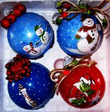 ornaments painted ornaments gifts