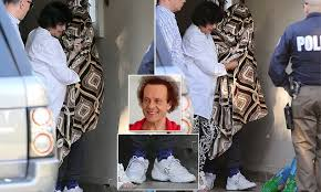 exclusive richard simmons pictured for the first time in three