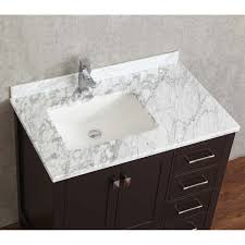 buy vincent 36 inch solid wood single bathroom vanity in espresso
