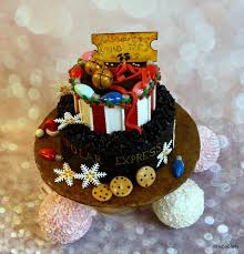 Christmas Cake Decorating Books by 708 Best Christmas Cakes U0026 Sugar Creations Images On Pinterest