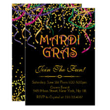 new orleans party supplies new orleans party invitations announcements zazzle