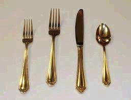 gold flatware rental gold flatware rentals baltimore md where to rent gold flatware in