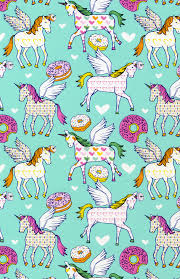 donut wrapping paper unicorns donut exist