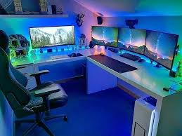 Gaming Station Desk Amazing Best Computer Desk Picture Outstanding Gaming Station