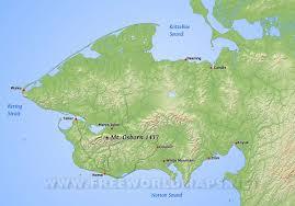 Europe Peninsulas Map Seward Peninsula Maps