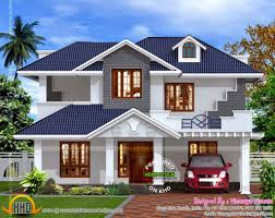 Home Design Plans Kerala Style by House Plan Kerala Style Villa Exterior Kerala Home Design And