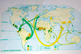 Coal Map Of The World by Map Sankey Diagrams