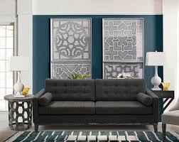 charcoal chenille sofa aa725 fabric sofas