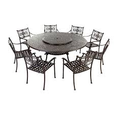 round dining room table seats 8 homelegance beaugrand round dining set brown 5177 54 6 8 seater