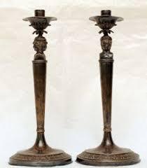 candelieri in argento candelieri antichi argenti antichi antiquariato su anticoantico