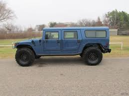 diesel brothers hummer buy used 96 hummer h1 wagon 4x4 6 5l v8 turbo diesel 97k blue tan