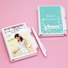 personalized favors bridal shower personalized notebook favors bridal shower favors