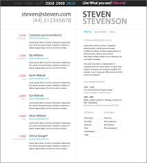 Resume Template Word 2007 Free Resume Templates For Word 2007 Free Resume Template