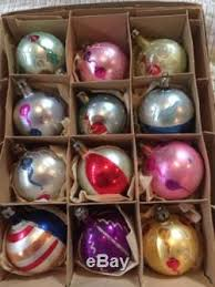 mercury glass poland painted ornaments lot of 24 2