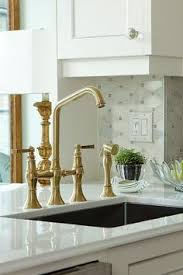 Used Kitchen Faucets by Faucet In Unlacquered Brass Patina Farm It U0027s All In The