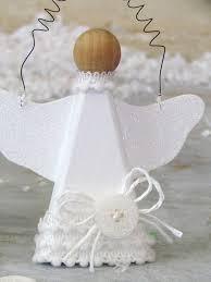 snow angel ornaments