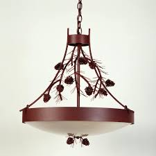 Pinecone Bathroom Accessories by Pine Cone Chandelier Cabin Place