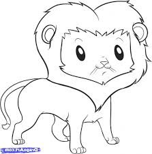 easy drawing of animals how to draw a hyena for kids step step