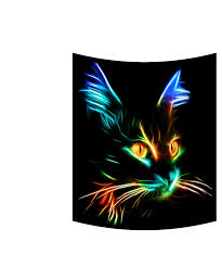 Color Changing Mugs Lighting Cat