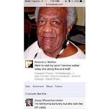 Funny Bill Cosby Memes - bill cosby grandma is doing fine well on instagram