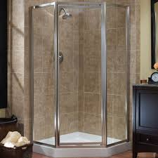 Angled Shower Doors Tides Framed Neo Angle Shower Doors Foremost Bath