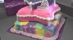 Baby Shower Pillow Cake Youtube