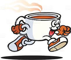 cartoon of the coffee mug free clip art vector images