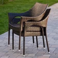 Patio Furniture Langley Mercury Row Danna Outdoor Wicker Arm Chair U0026 Reviews Wayfair