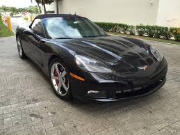 2009 chevrolet corvette convertible ls3 6 2 v8 6 speed manual
