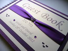 purple guest book silver butterfly themed guest book with a black cover i do designs