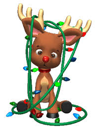 second life marketplace cute reindeer with lights animated