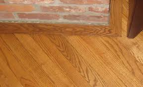 crooked slanted hearth gunstock oak 2 1 4 inch hardwood flooring