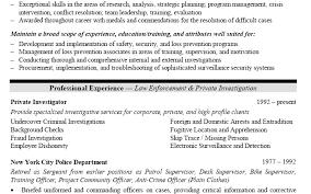 Sample Resume For Retired Police Officer by Career Change Resume Objective Sample Career Change Resume Samples