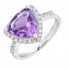 inel diamant inel diamante si ametiste