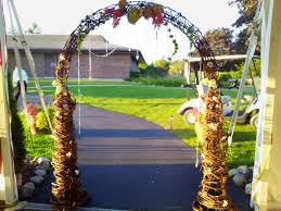 wedding arch grapevine ceremony and churches let me wow u kenosha wi 888 819 9698