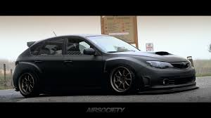 subaru black subaru sti hatchback slammed google search suuuuubie