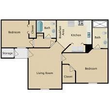 2 bed 2 bath floor plans maravilla apartments availability floor plans pricing
