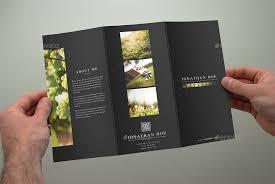 photography brochure template photography tri fold brochure