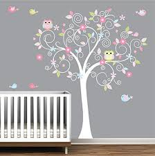 Tree Nursery Wall Decal Tree Wall Decal Nursery Wall Decals Nursery Wall