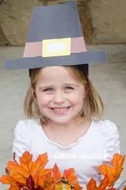 crafts for kids pilgram hat tutorial