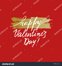 happy valentines day template design card stock vector 365016071