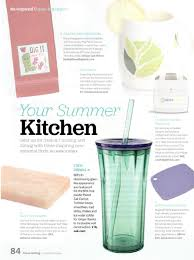 zak clarion tumbler featured in clean eating magazine
