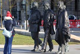 the beatles at the pierhead briansimpsons