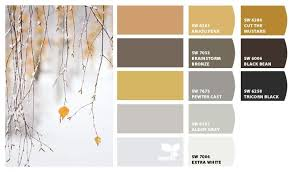 gold and gray color scheme apartment color schemes design seeds paint colors my sky is the