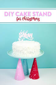 for christmas diy cake stand for christmas a craft in your day