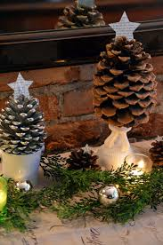 table decorations with pine cones tutorials and tips link party 37 tree craft pine cones home