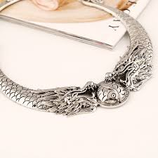collar necklace fashion images Kmvexo fashion bohemian necklace 2018 hot gypsy vintage double jpg