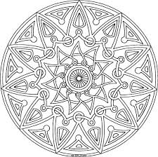 celtic mandala coloring free download
