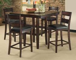 bar height dining room sets dining tables piece counter height dining room set table chair