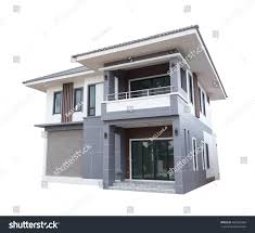 house modern contemporary style isolated on stock photo 481863364